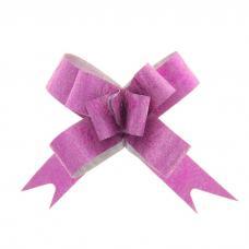 Бант-бабочка № 1,2 'Фактура', цвет малиновый