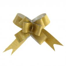 Бант-бабочка № 1,2 'Фактура', цвет золотой