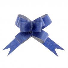 Бант-бабочка № 1,2 'Фактура', цвет синий