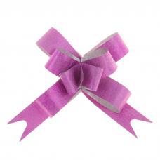Бант-бабочка №1,2 'Фактура', цвет малиновый