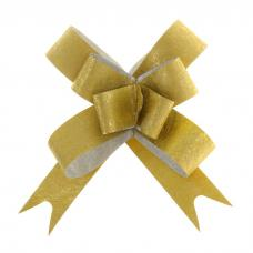 Бант-бабочка №1,2 'Фактура', цвет золото