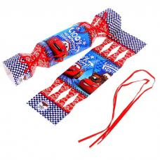 Складная коробка-конфета 'Чемпиону', Тачки, 11х5 см