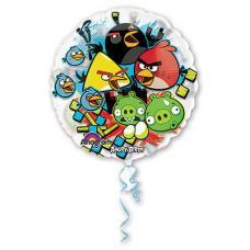 Angry Birds, прозрачный шар, круглый