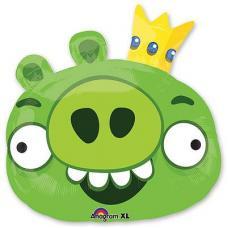 Angry Birds король свин