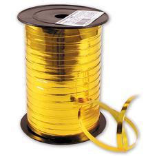 Лента металлизир 5ммХ230м золотая