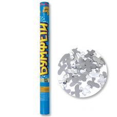 Хлопушка Бумфети 60см конф бум/фолГолуби
