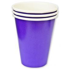 Стакан Purple, 8шт, 266мл, бумага