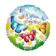 С Днём Рождения!  Бабочки, круглый