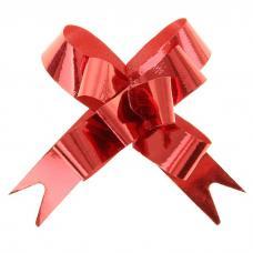 Бант-бабочка №1,2 голография, цвет красный