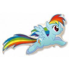 Пони Радуга Дэш(голубая)