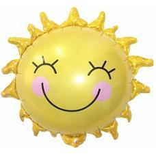 Шар (26''/66 см) Фигура, Солнышко улыбка